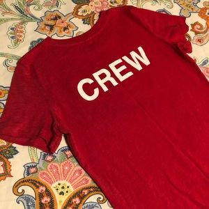 "Smirnoff Small Shirt ""CREW"""